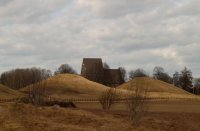 Old Uppsala, Royal Mounds, April 11