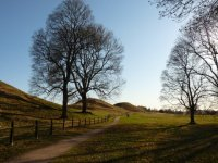Old Uppsala, Royal Mounds, April 23