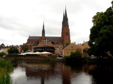 the cathedral from the river