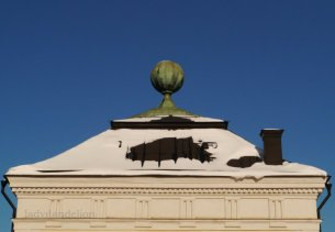 Gustavianum with its sun dial cupola