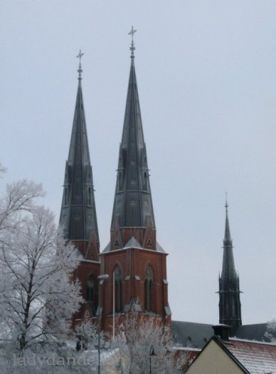 The spires of The Cathedral